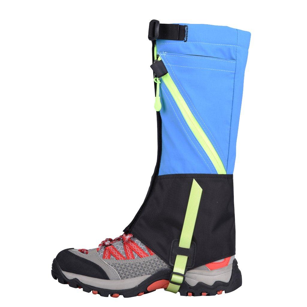 Jili Online Kids Waterproof Gaiters Ski Snow Leg Cover Protector Breathable Outdoor Hiking Walking Climbing Legging Gaiters