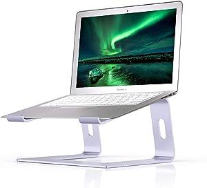Boyata Laptop Stand, Aluminum Ergonomic Laptop Riser Computer Stand for Desk, Detachable Laptop Holder Compatible for All 10-15.9