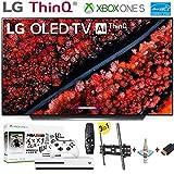 LG Electronics OLED55C9PUA C9 Series 55' 4K Ultra HD Smart OLED TV (2019) w/Xbox One S NBA 2K19 w/3 in 1 Wall Mount kit-...