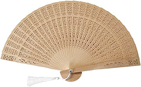 Amazon Com Chinese Gifts Chinese Hand Fans Chinese Sandalwood Fan Home Kitchen