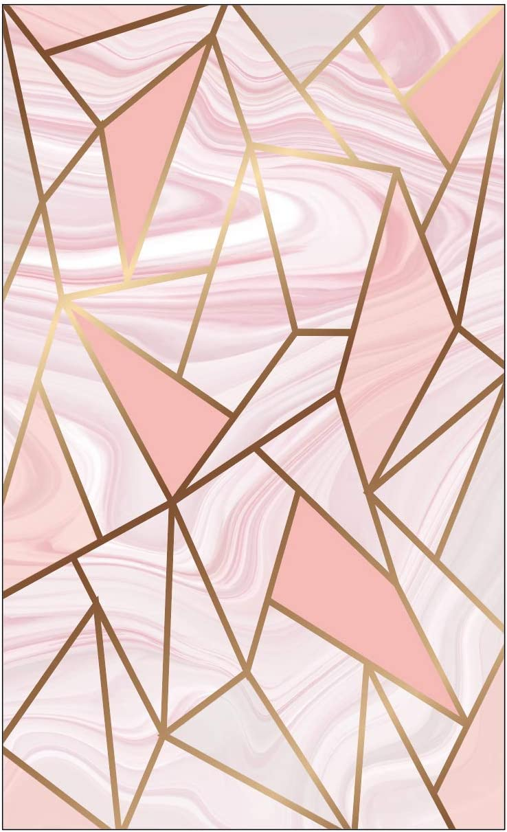 RXBC2011 Appointment Reminder Cards Marble pink and gold party supplies Pack of 100