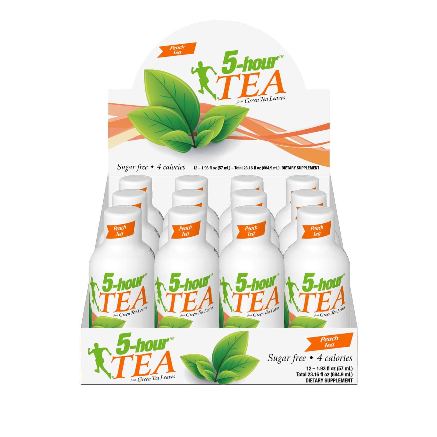 5-hour TEA, Peach Tea Flavored Energy Shots, 1.93 oz, 24 Count by 5-hour ENERGY (Image #5)