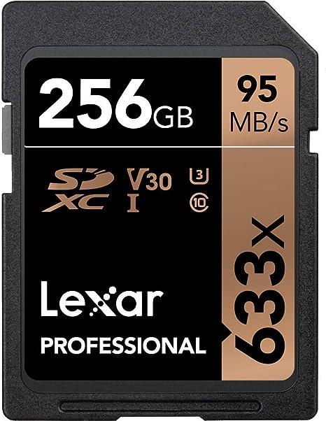 Lexar Professional 633X 256GB SDXC UHS-I Card