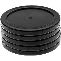 Baoblaze 5 Pcs de Discos de Hockey de Aire para Mesas de Hockey de Color Negro