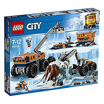 LEGO City 60195 - Ártico: Base móvil de exploración: Amazon ...