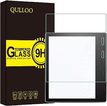 QULLOO Protector de Pantalla para Amazon Kindle Oasis Cristal ...