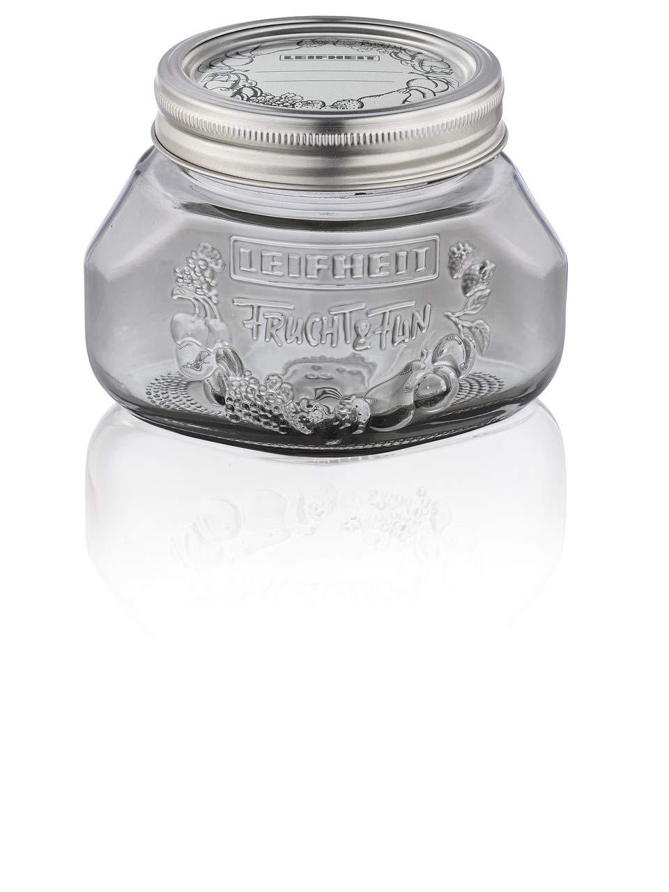 Botella tallada 0.5/L verde Leifheit/ 36322