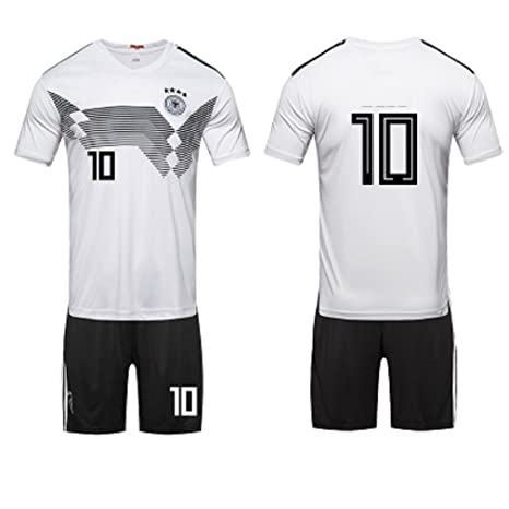 Amazon.com : ZLJTYN German Short-Sleeved 2018, Soccer Suit ...