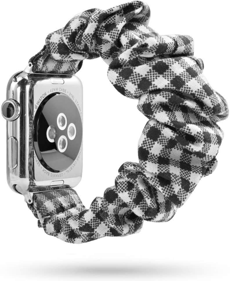 Youjinsh - Bandas para coleteros compatibles con Apple Watch Band 38 mm, 40 mm, 42 mm, Suave patrón Impreso, Correas de Repuesto para Mujeres y Hombres con iWatch Series