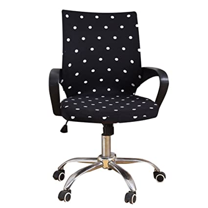 Incredible Office Chair Cover Stretchable Swivel Computer Chair Download Free Architecture Designs Estepponolmadebymaigaardcom