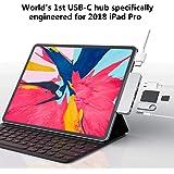 Hyper HyperDrive 6-in-1 USB-C 3.1 Hub for Apple iPad Pro 2018, Space Grey