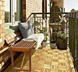 Acacia Hardwood Deck and Patio Easy to Install