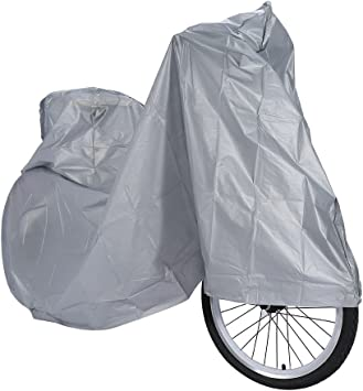 Motorcycle Waterproof Raincoat Rain Cover Dust Proof Protector Bicycle Scooter