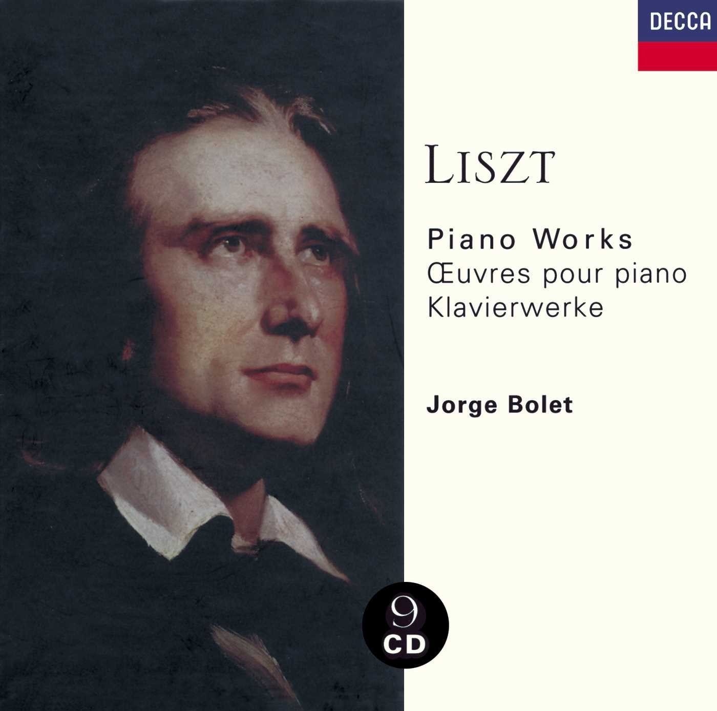 Piano Works [9 CD Box Set] by LISZT,F.