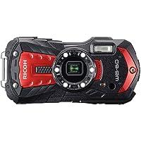 Ricoh WG-60 Fotoğraf Makinesi - Kırmızı Dijital Kompakt Fotoğraf Makinesi
