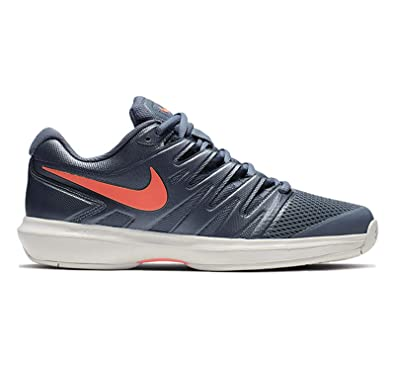 new arrival 345c5 deeaa Nike Women s Air Zoom Prestige Tennis Shoes (6 B US, Metallic Blue Dusk