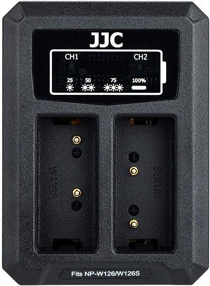Jjc Usb Dual Ladegerät Akkulader Für Fujifilm X S10 Kamera