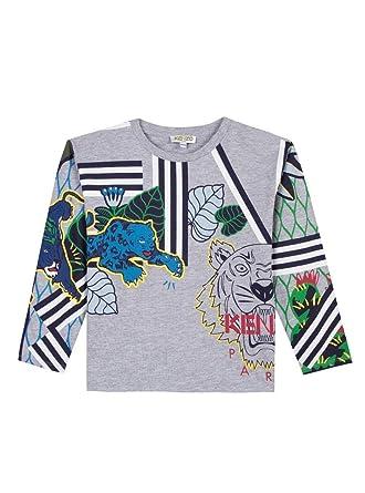 a88e62e2fed3 Kenzo T-Shirt Erwann Gris 14A Gris  Amazon.fr  Vêtements et accessoires