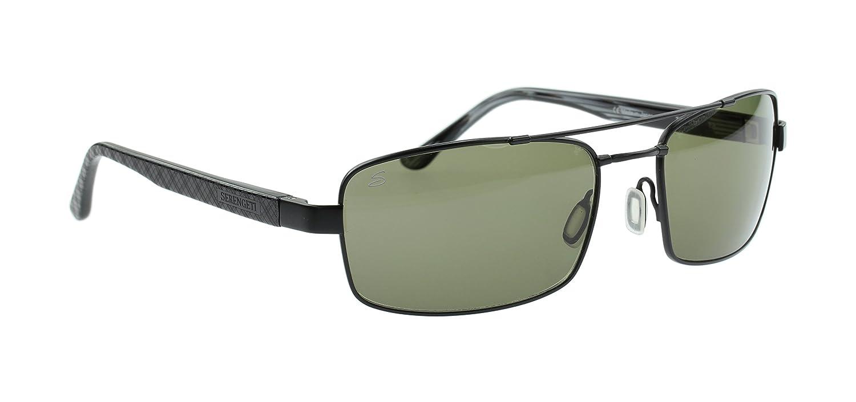 Gafas de Sol Serengeti Tosca de Titanio Ligeras, Negro Mate ...