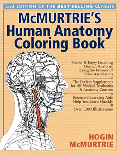 Mcmurtrie S Human Anatomy Coloring Book Hogin Mcmurtrie