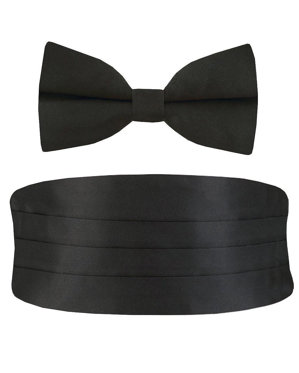Dobell Mens Black Cummerbund