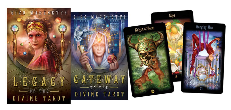 Legacy of the Divine Tarot : Marchetti, Ciro: Amazon.in: Books