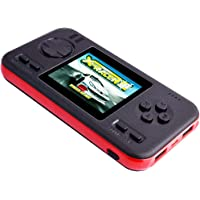Pokpow Portable Handheld Game Console and 8000mAh Power Bank, uilt in 218 Classic Retro Video Games
