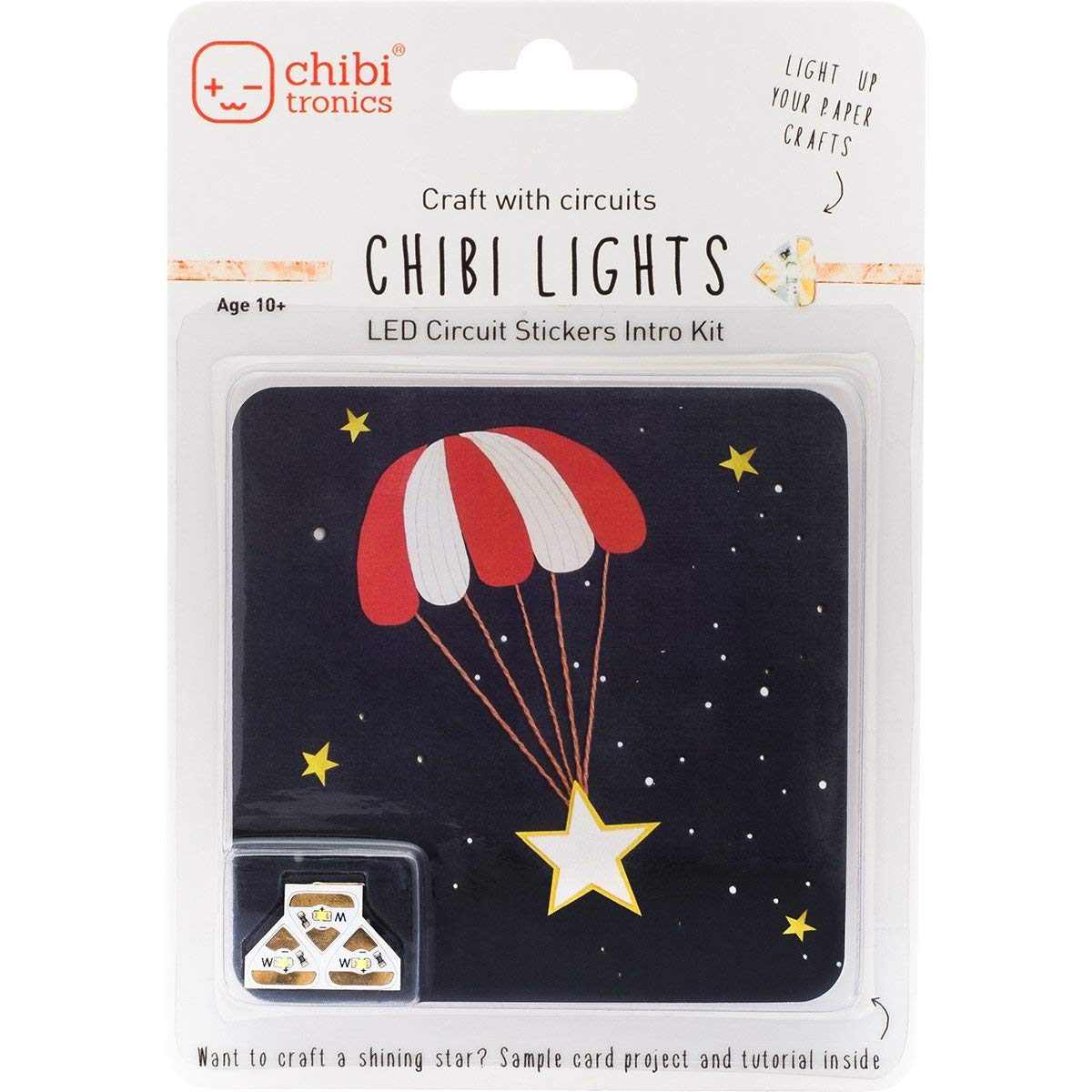 Chibitronics Chibi Lights LED Circuit Stickers Intro Kit