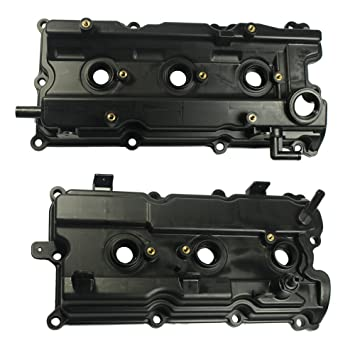 Amazon.com: LH & RH Valve Covers with Gasket & Spark Plug Seals for 2002-2004 Infiniti I35 2002-2006 Nissan Altima 2002-2008 Maxima 2003-2007 Murano ...