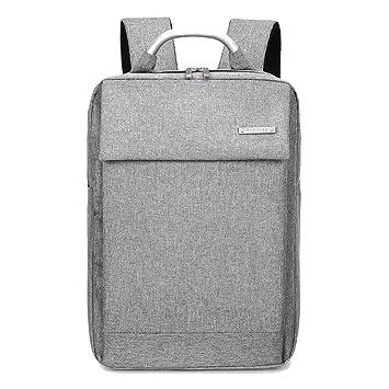 GUOFENG - Mochila para Ordenador portátil, tamaño Grande, Sencilla, de 14 a 15,6 Pulgadas, para Universidad, Hombres y Mujeres, Bolsa de Lona: Amazon.es: ...