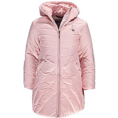 d378d6de0bc4 Le Chic Girls Long Padded Coat - Pink Cristal - 3 Years | 98cm:  Amazon.co.uk: Clothing