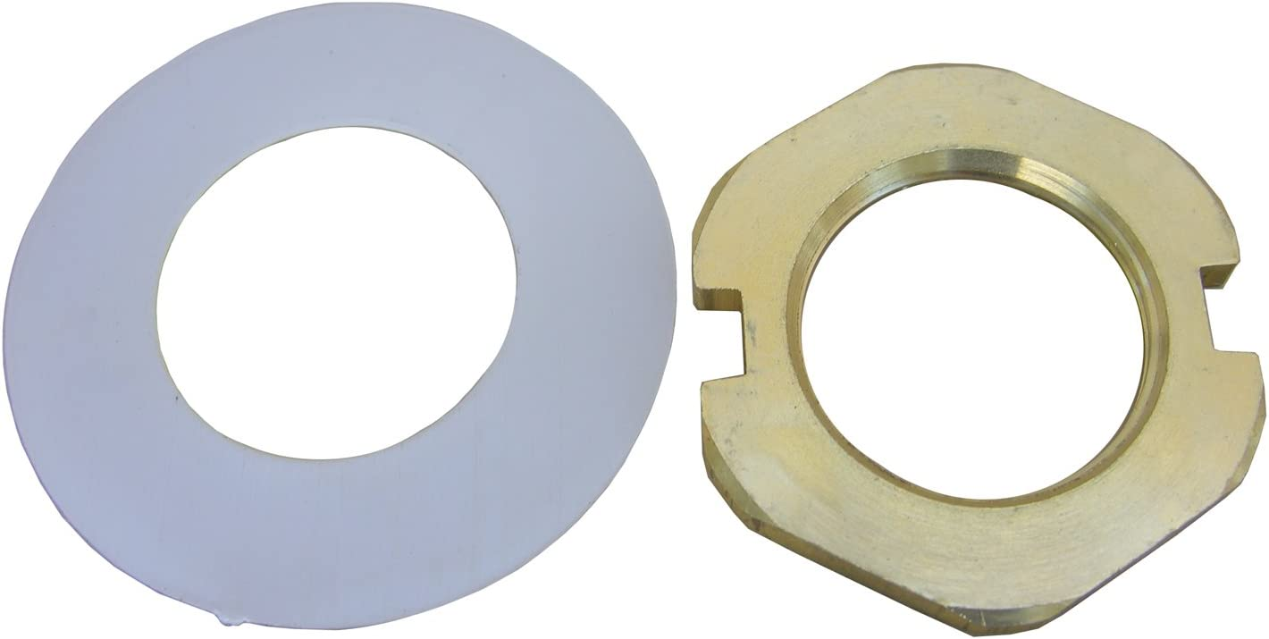 Lasco 03 1965 Price Pfister 931 600 Lock Nut And 02 7500 Nylon Washer For Widespread Lavatory Faucet Valve Brass Amazon Com