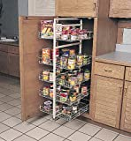 Kv Pantry Rollout Unit 43 1/4'' - 50'' White