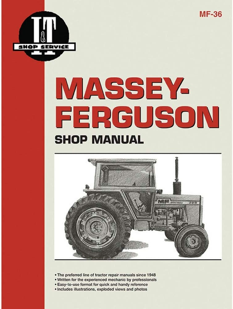 Complete Tractor 1215-1006 Service Manual for Allis Chalmers 1215-1007 Bl