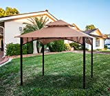 ABCCANOPY Gazebo Replacement 10'X10' Summer Breeze Soft Top for 10ft Gazebo Beige(Only Top)