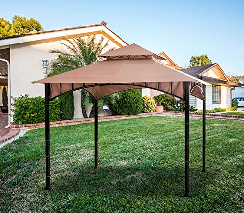 ABCCANOPY Gazebo Replacement 10'X10' Summer Breeze Soft Top for 10ft Gazebo Beige(Only Top) by ABCCANOPY