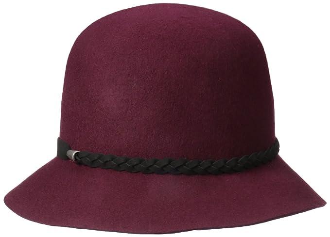 Nine West Women s Felt Cloche Hat with Braid Detail 5446f3a7ee2