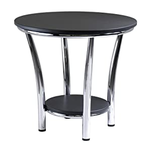 Winsome Wood 93219 Maya Occasional Table Black/Metal