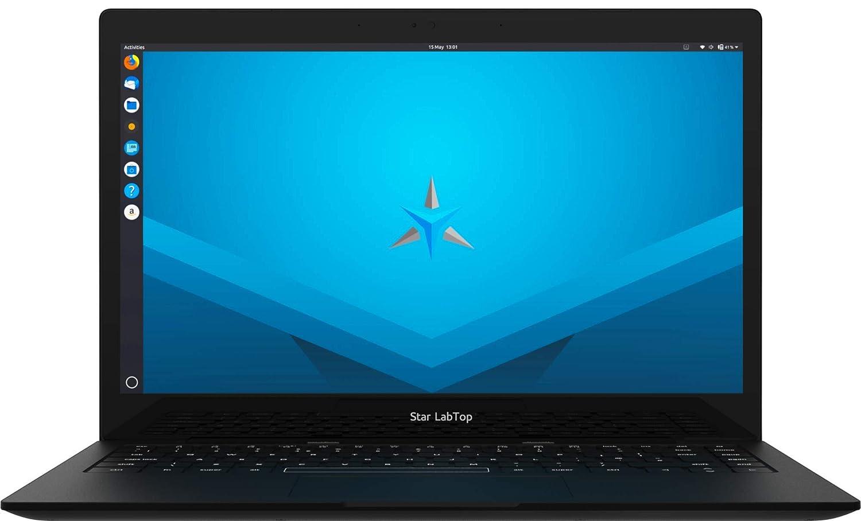 """Portátil Ultrabook Star LabTop 13.3"""" (Teclado inglés UK, Ubuntu 18.04.3 LTS)"""