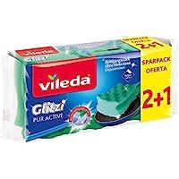 Vileda Glitzi Pur Aktiv Disksvampar Paket med 3