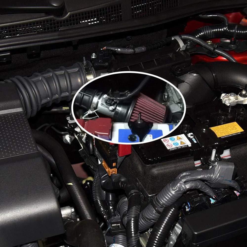 Carrfan 63mm 2.5pouce Adaptateur de capteur de d/ébit dair d/ébitm/ètre dair,adapt/é aux Performances de la Honda Civic Volkswage Ford MAF