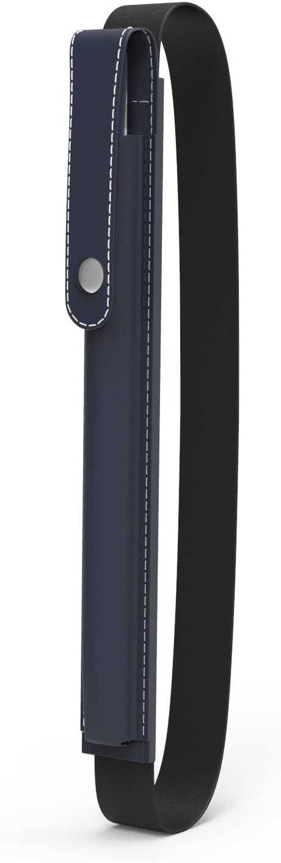"MoKo Case Holder for Apple Pencil, Elastic Detachable Pouch for Apple Pencil, Fit iPad 8th Generation/iPad 10.2 2019/iPad Air (3rd Gen) 10.5"" 2019 (Only for Apple Pencil 1st Case) - Indigo"