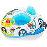Ewin24 Gonflable, Bébé, Enfant Toddler Float Infant Swimming Seat Bateau Anneau Raft Toy Piscine président (Président Car)