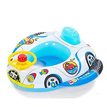 1PCS Inflatable Baby Child Toddler Infant Swimming Seat Float Boat Ring Raft Chair Pool Toy