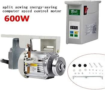 OUKANING Máquina de Coser, Motor de Ahorro de energía, sin escobillas, Motor servomotor de 600 W para máquina de Coser Industrial: Amazon.es: Juguetes y juegos