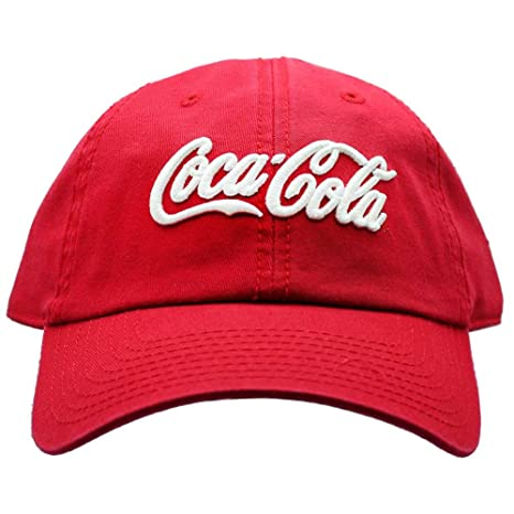 Amazon.com   American Needle X Coca-Cola Washed Raglan Hat in Red White    Sports   Outdoors 68c43a25084