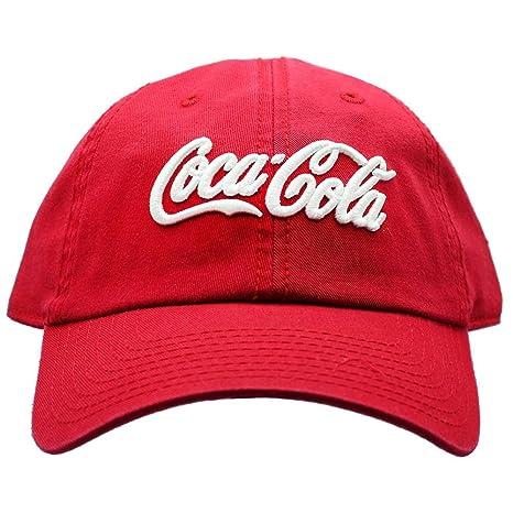 2b48e6bd9e8 Amazon.com   American Needle X Coca-Cola Washed Raglan Hat in Red White    Sports   Outdoors
