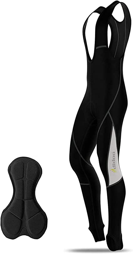 Hommes Cyclisme Collants d/'Hiver Thermal Rembourré Pantalon Cycle Long Pantalon
