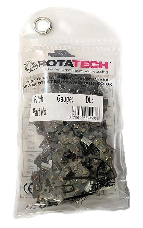 "Auténtico Rotatech cadena de motosierra .325"" 1.5mm, 72 eslabones, 45cm espada"