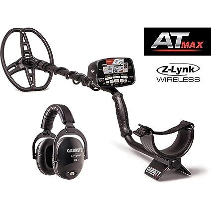 d4c5b422a3d Amazon.com : Garrett at Max Metal Detector with Z-Lynk Wireless Headphone  Plus Accessories : Garden & Outdoor
